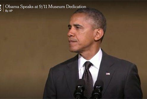 Obama Dedicates 9/11 Memorial Museum