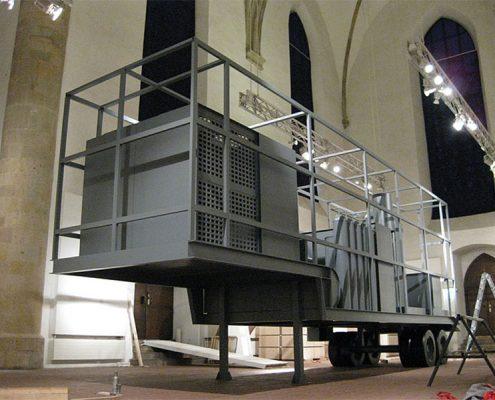 Inigo Manglano-Ovalle, Phantom Truck. Osnabrück Germany. Photo Credit: KC Fabrications