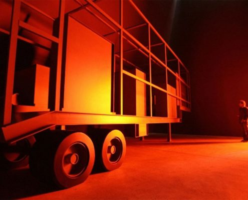 Inigo Manglano-Ovalle, Phantom Truck. Documenta Kassel. Photo Credit: Documenta