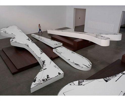 Michael Heizer, Altars. Photo Credit: New York Times, Washington Post, Gagosian Gallery