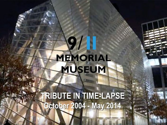 Official-911-Memorial-Museum-Tribute-In-Time-Lapse-2004-2014