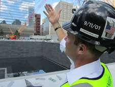 New Yorkers rush to finish World Trade Center Memorial